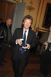 The HON.ERSKINE GUINNESS at a party to celebrate the publication of 'Arthur's Road' a biography of Arthur Guinness written by Patrick Guinness held at the Irish Embassy, London on 6th March 2008.<br /><br />NON EXCLUSIVE - WORLD RIGHTS