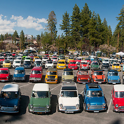Mini Cooper Group Photo - Lake Tahoe - 2011
