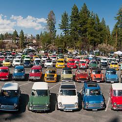 Mini Cooper Group Photo - Lake Tahoe - 2011