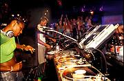 DJ Sonique DJing, U.S.A, 2000.