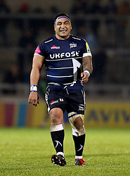 Halani Aulika of Sale Sharks - Mandatory by-line: Matt McNulty/JMP - 03/03/2017 - RUGBY - AJ Bell Stadium - Sale, England - Sale Sharks v Northampton Saints - Aviva Premiership