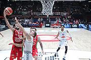 Davide Pascolo, EA7 Olimpia Milano vs Pasta Reggio Caserta - Lega Basket Serie A 2016/2017 - Mediolanum Forum Milano 30 ottobre 2016 - foto Ciamillo-Castoria