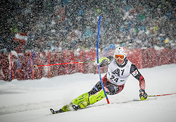 27.01.2015, Planai, Schladming, AUT, FIS Skiweltcup Alpin, Schladming, 1. Lauf, im Bild Ivica Kostelic (CRO) // Ivica Kostelic (CRO) during the first run of the men's slalom of Schladming FIS Ski Alpine World Cup at the Planai Course in Schladming, Austria on 2015/01/27, EXPA Pictures © 2015, PhotoCredit: EXPA/ Erwin Scheriau