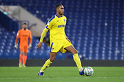 AFC Wimbledon defender Terell Thomas (6) controlling the ball during the EFL Trophy match between U21 Chelsea and AFC Wimbledon at Stamford Bridge, London, England on 4 December 2018.