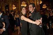 SOPHIE LORETAN; SHAHRAM SHAYESTEH,  Drinks the evening before the The 2008 Crillon Debutante Ball. Baccarat. Place des Etats-Unis.  Paris. 29 November 2008. *** Local Caption *** -DO NOT ARCHIVE-© Copyright Photograph by Dafydd Jones. 248 Clapham Rd. London SW9 0PZ. Tel 0207 820 0771. www.dafjones.com.