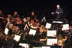 The Bournemouth Symphony Orchestra, conducted by Pete Harrison, perform at Classic FM Live, at the Royal Albert Hall in London. The concert was part of Classic FM's 25th Birthday celebrations. Picture date: Tuesday September 19th, 2017. Photo credit should read: Matt Crossick/ EMPICS Entertainment.