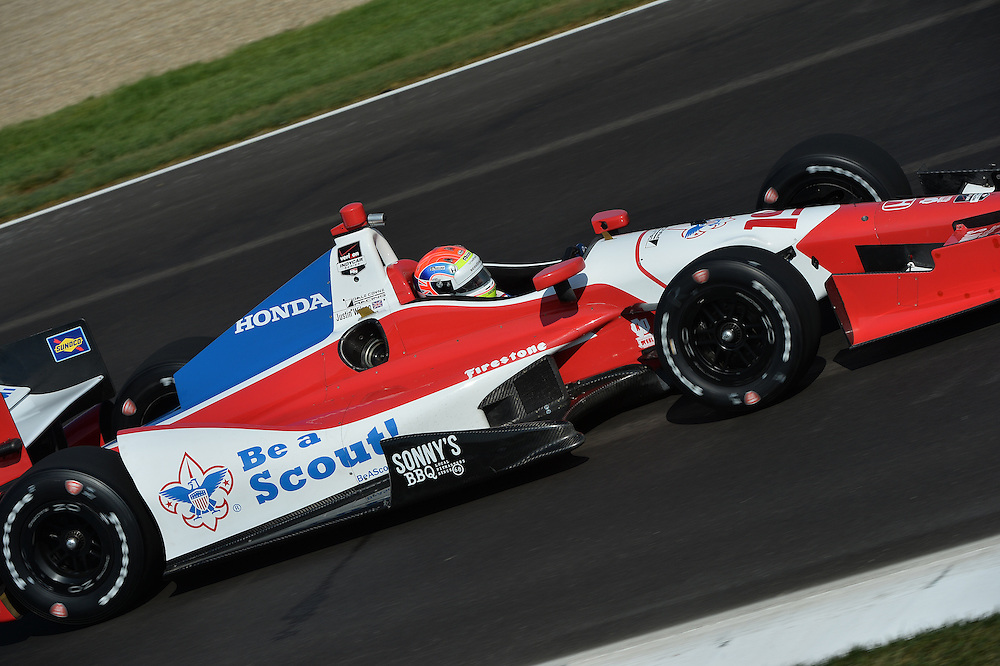 Justin Wilson, Grand Prix of Indianapolis, Indianapolis Motor Speedway, Indianapolis, IN USA 5/10/2014