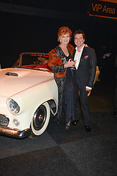 RULA LENSKA and CHARLES WORTHINGTON at the Collars & Coats Gala Ball in aid of Battersea Dogs & Cats Home held at Battersea Evolution, Battersea Park, London on 7th November 2013.