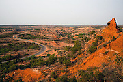 Caprock Canyons State Park contains over 15,000 acres of rugged caprock escarpment and canyons. Home to the Folsom culture 10,000 years ago, archaeologists have found over 300 significant sites in the park with more than 75% of the environs yet to be surveyed.