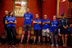 16-06-2017 NED: We hike to change diabetes day 6, Santiago de Compostela <br /> De laatste dag van Herrerias de Valcarce naar Santiago de Compastela. Groepfoto BvdGF