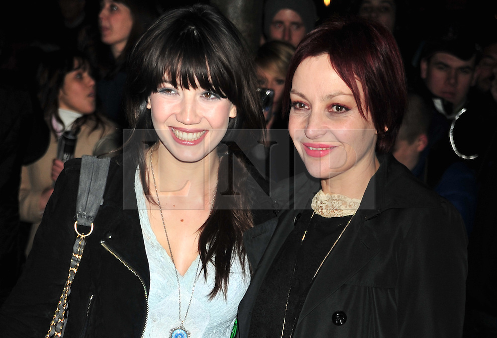 © Licensed to London News Pictures. 14/12/2011. London, England.Daisy Lowe and Pearl Lowe attends the English National Ballet: The Nutcracker - Christmas Performance in St Martins London .  Photo credit : ALAN ROXBOROUGH/LNP