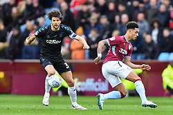 March 16, 2019 - Birmingham, England, United Kingdom - Middlesbrough defender George Friend (3) battles with Andre Green (19) of Aston Villa during the Sky Bet Championship match between Aston Villa and Middlesbrough at Villa Park, Birmingham on Saturday 16th March 2019. (Credit Image: © Mi News/NurPhoto via ZUMA Press)