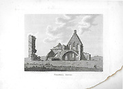 Engravings of Scottish landscapes and buildings from late eighteenth century, Corshill House, Scotland, UK