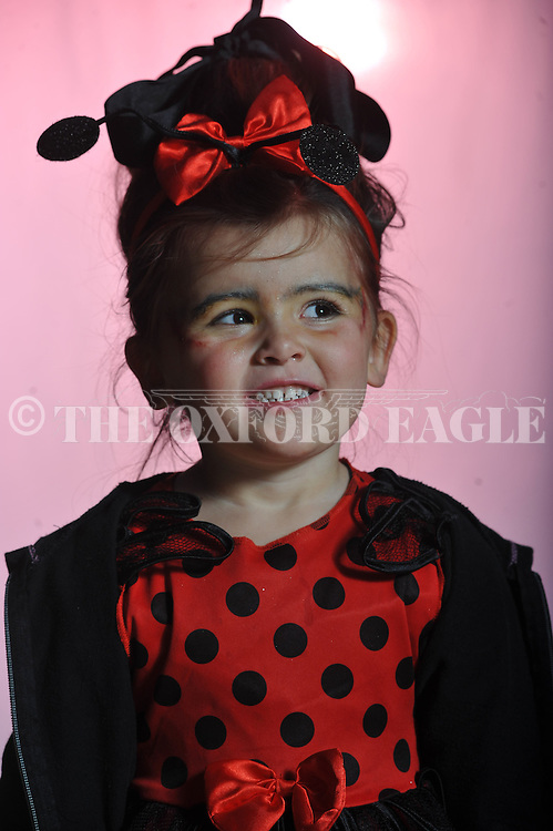Taylor Brooklyn Metts poses on Halloween in Oxford, Miss. on Wednesday, October 31, 2012.