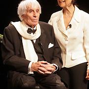 NLD/Amersfoort/20080216 - Concert 104 jarige Johannes Heesters, samen met partner Simone Rethel