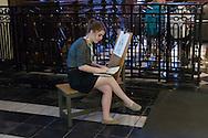 Belgie, Brugge, 20110521.<br /> <br /> Belgium, Bruges, 20110521.<br /> Emerson College Summer Course
