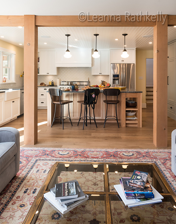 An old farmhouse in Central Saanich on Vancouver Island gets a new lease on life with a major renovation by David Dare of Roads End Construction.
