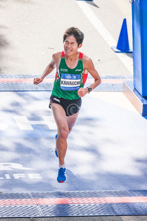 NYC Marathon, Yuki Kawauchi, Japan