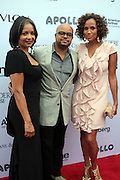 13 June 2011- Harlem, NY-  l to r: Jonalle Procope, Brett Wright and Yvonna Wright at the 2011 Annual Apollo Spring Gala honoring Stevie Wonder held at the Apollo Theater on June 13, 2011 in Harlem, New York City. Photo Credit: Terrence Jennings