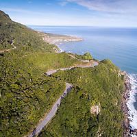 Irimahuwhero lookout in Paparoa National Park, West Coast, South Island