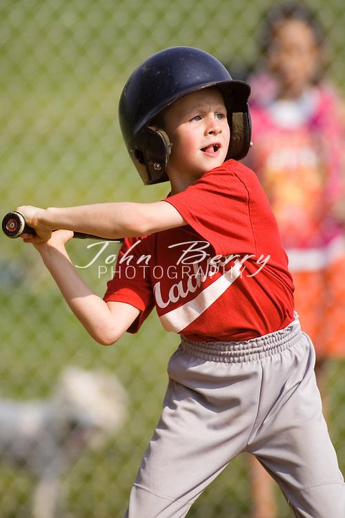 Madison Parks and Rec Baseball.T-ball Red vs Royal .5/31/2008..