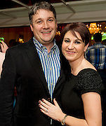 Tracy O' Mahoney and Ed Dunbar at the launch of the  hopefully Xmas number 1 single Tiny Dancer by a host of Irish singers ( Mary Black, Paddy Casey, John Spillane to mention just a few) and AIMS members at Hotel Meyrick in aid of the Lily Mae Trust. Picture:Andrew Downes..Photo issued with compliments, no reproduction fee.