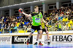 23.02.2018, BSFZ Suedstadt, Maria Enzersdorf, AUT, HLA, SG INSIGNIS Handball WESTWIEN vs Bregenz Handball, Bonus-Runde, 3. Runde, im Bild Sebastian Frimmel (SG INSIGNIS Handball WESTWIEN) // during Handball League Austria, Bonus-Runde, 3 rd round match between SG INSIGNIS Handball WESTWIEN and Bregenz Handball at the BSFZ Suedstadt, Maria Enzersdorf, Austria on 2018/02/23, EXPA Pictures © 2018, PhotoCredit: EXPA/ Sebastian Pucher