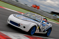 Will Chappell speeds through the first part of The Esses at Snetterton in his Ma5da Racing Mk3 MX-5.
