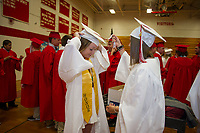 Laconia High School Graduation.  (Karen Bobotas/for the Laconia Daily Sun)