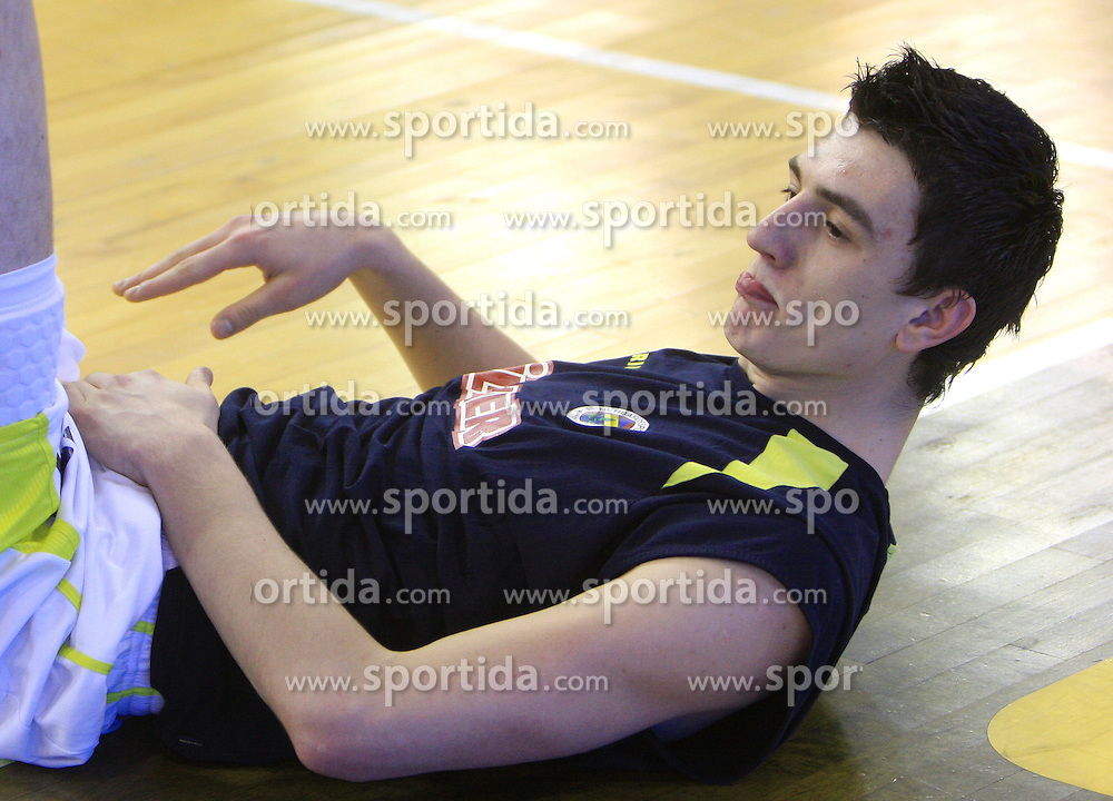 Emir Preldzic of Fenerbahce at Euroleague basketball game in Round 9 of Group C between KK Union Olimpija, Ljubljana and Fenerbahce Ulker, Istanbul, on January 8, 2009, in Arena Tivoli, Ljubljana, Slovenia. Fenerbahce won 90:70. (Photo by Vid Ponikvar / SportIda).