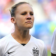 Amy Rodriguez, U.S. Women's National Team, during the U.S. Women's National Team Vs Korean Republic, International Soccer Friendly in preparation for the FIFA Women's World Cup Canada 2015. Red Bull Arena, Harrison, New Jersey. USA. 30th May 2015. Photo Tim Clayton