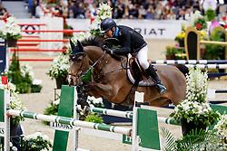 Gulliksen Geir, NOR, Edesa S Banjan<br /> Gothenburg Horse Show FEI World Cups 2017<br /> © Hippo Foto - Stefan Lafrentz<br /> 26/02/17