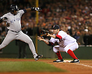 Doug Mientkiewicz, 2004 Boston Red Sox, make a run at history getting through a tough fight with the New York Yankees and then eventually sweeping the St. Louis Cardinals for the World Series title.