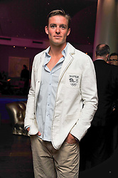 Olympic rower PETER REED at a pool party to celebrate the UK launch of the Omega Ladymatic Collection held at the Haymarket Hotel, Haymarket, London on 16th June 2011.