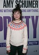 Nederlandse premiere van de film I Feel Pretty bij Pathe ArenA. Op de foto: Isis Cabolet