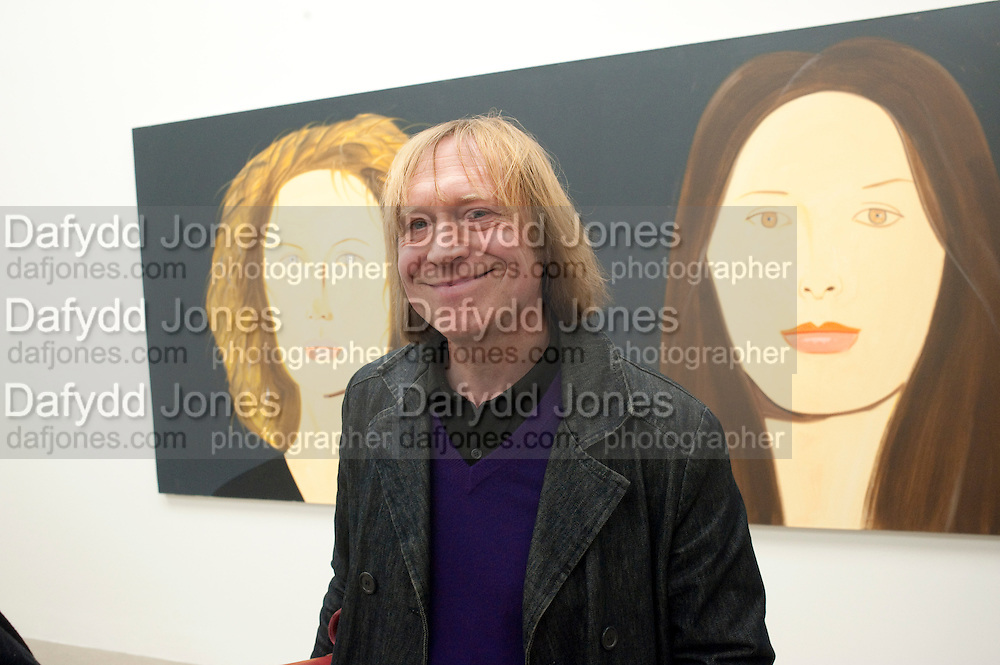 JAMES PUTNAM, Alex Katz opening. Timothy Taylor gallery. London. 3 March 2010.