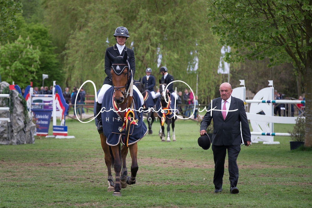 Patteet Gudrun, (BEL), Sea Coast Ideo d'O<br /> Belgian Championships 7 years old horses<br /> Longines Spring Classic of Flanders - Lummen 2015<br /> &copy; Hippo Foto - Dirk Caremans<br /> 03/05/15