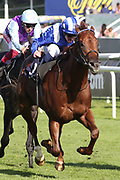 MOLATHAM (2) ridden by Jim Crowley and trained by Roger Varian winning The Listed Weatherbys Global Stallions App Flying Scotsman Stakes over 7f (£30,000)   during the third day of the St Leger Festival at Doncaster Racecourse, Doncaster, United Kingdom on 13 September 2019.