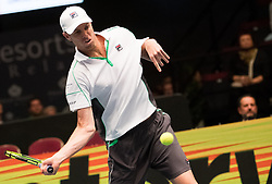 25.10.2018, Wiener Stadthalle, Wien, AUT, ATP Tour, Erste Bank Open, im Bild Sam Querrey (USA) // Sam Querrey of the USA during the Erste Bank Open of ATP Tour at the Wiener Stadthalle in Wien, Austria on 2018/10/25. EXPA Pictures © 2018, PhotoCredit: EXPA/ Michael Gruber