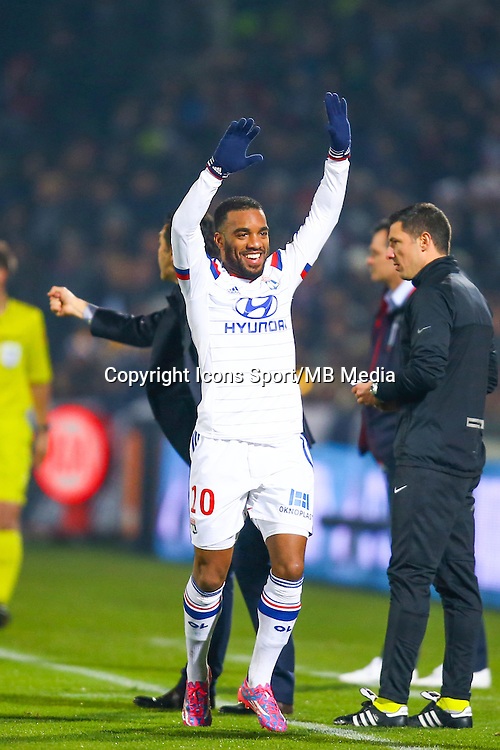 Alexandre Lacazette  - 21.12.2014 - Bordeaux / Lyon - 19eme journee de Ligue 1 -<br /> Photo : Manuel Blondeau / Icon Sport