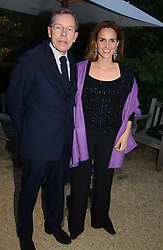 NICHOLAS & EUGENIE CLIVE WORMS at the annual Cartier Flower Show Diner held at The Physics Garden, Chelsea, London on 23rd May 2005.<br />