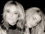 Sienna Miller & Filippa Hamilton