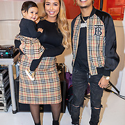 NLD/Amsterdam/20191111 - Linda.meiden  Winterboek, DJ Wef en partner Ronnie Flex en  dochter Nori  Dua