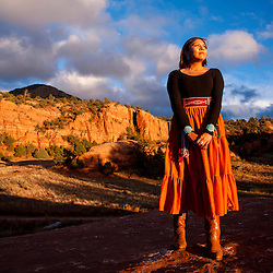 Kayla Begay for One Day Magazine