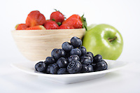 Studio  shot of fruit composition