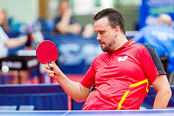 (GER) BRUCHLE Thomas in action during 15th Slovenia Open - Thermana Lasko 2018 Table Tennis for the Disabled, on May 10, 2018 in Dvorana Tri Lilije, Lasko, Slovenia. Photo by Ziga Zupan / Sportida