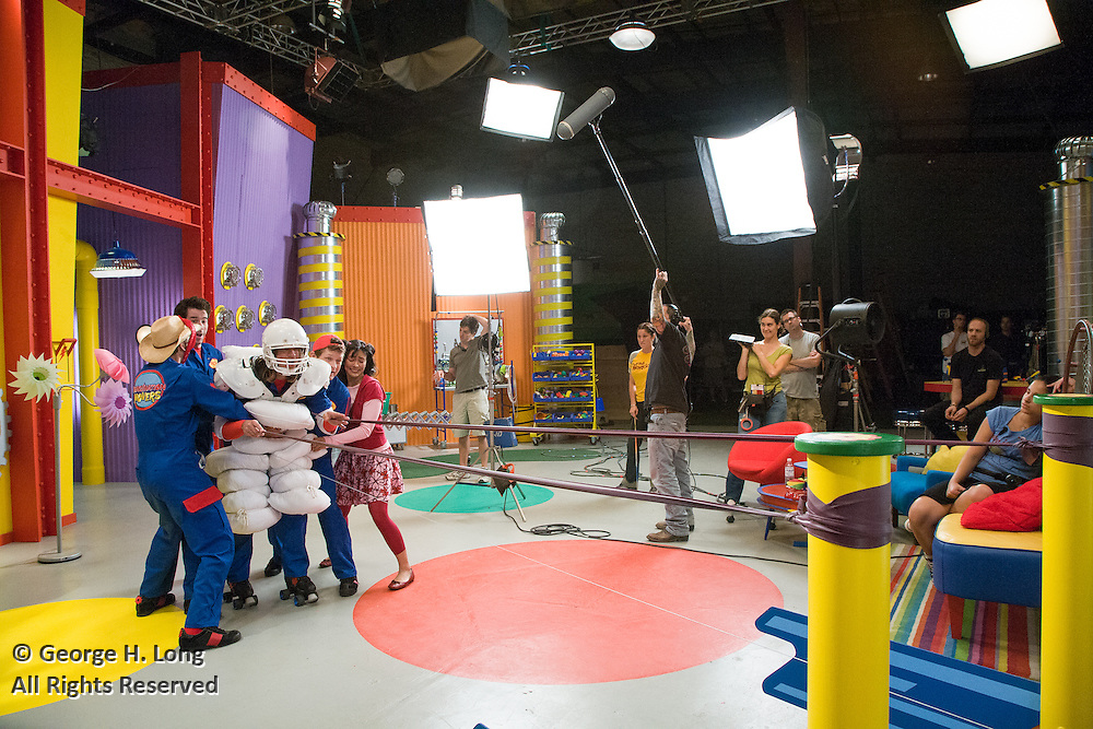"Disney's ""Imagination Movers"" recorded at NIMS studio, New Orleans, Harahan, Louisiana"
