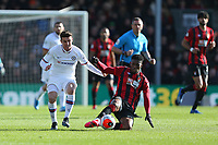 Football - 2019 / 2020 Premier League - AFC Bournemouth vs. Chelsea<br /> <br /> Bournemouth's Jefferson Lerma slides in to win the ball from Mason Mount of Chelsea during the Premier League match at the Vitality Stadium (Dean Court) Bournemouth  <br /> <br /> COLORSPORT/SHAUN BOGGUST