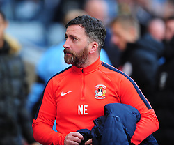NICKY EADEN ASSISTANT MANAGER COVENTRY CITY, <br /> Coventry City v Scunthorpe United, EFL, Sky Bet League One Ricoh Arena, Saturday 12th November 2016<br /> Photo:Mike Capps