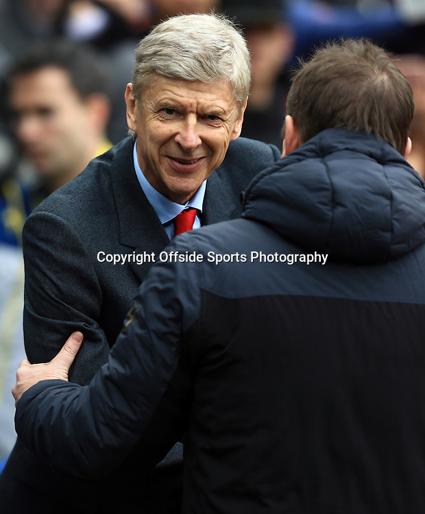 21 March 2015 - Barclays Premier League - Newcastle United v Arsenal - Arsene Wenger, Manager of Arsenal - Photo: Marc Atkins / Offside.